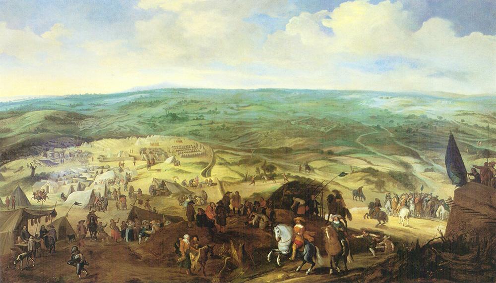El asedio de Bois le Duc Paulus I Van Hillegaert