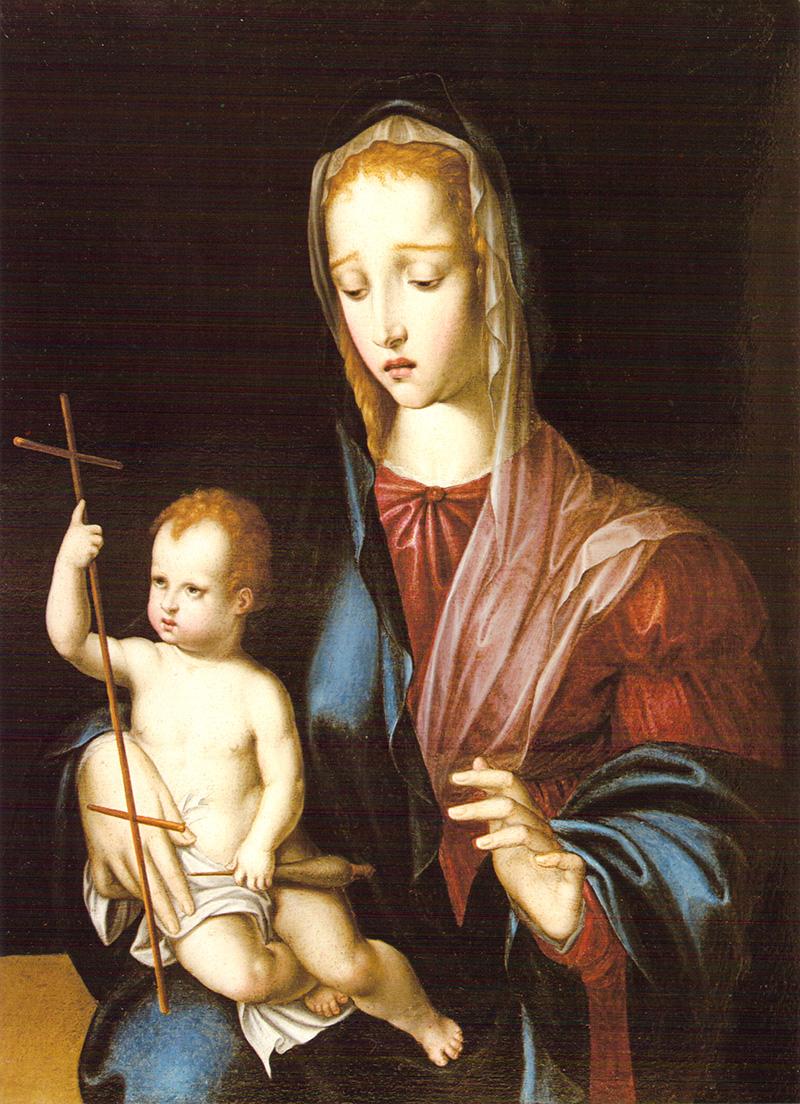La Virgen del Huso Luis de Morales