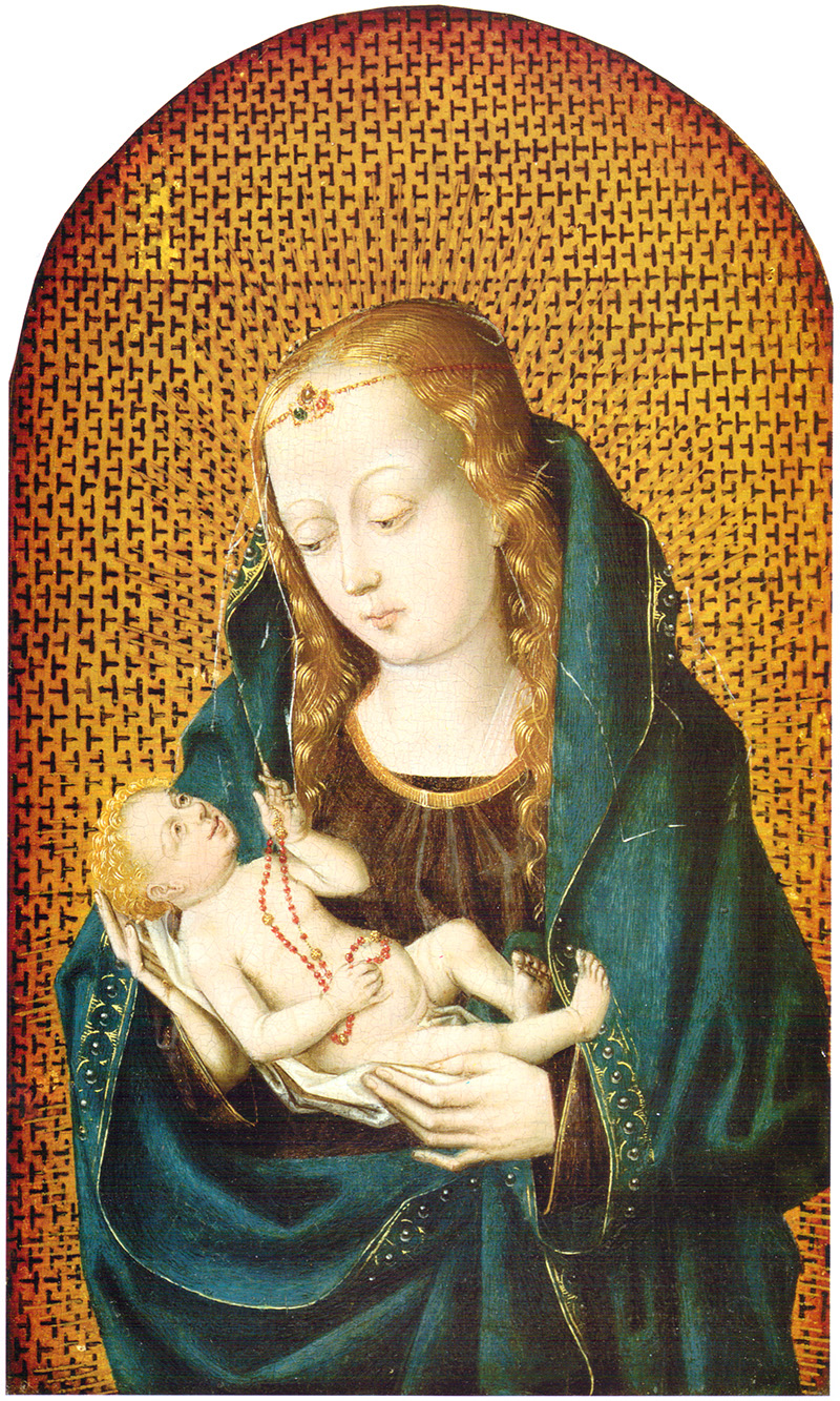 Virgen con niño Colonia, último tercio siglo XV