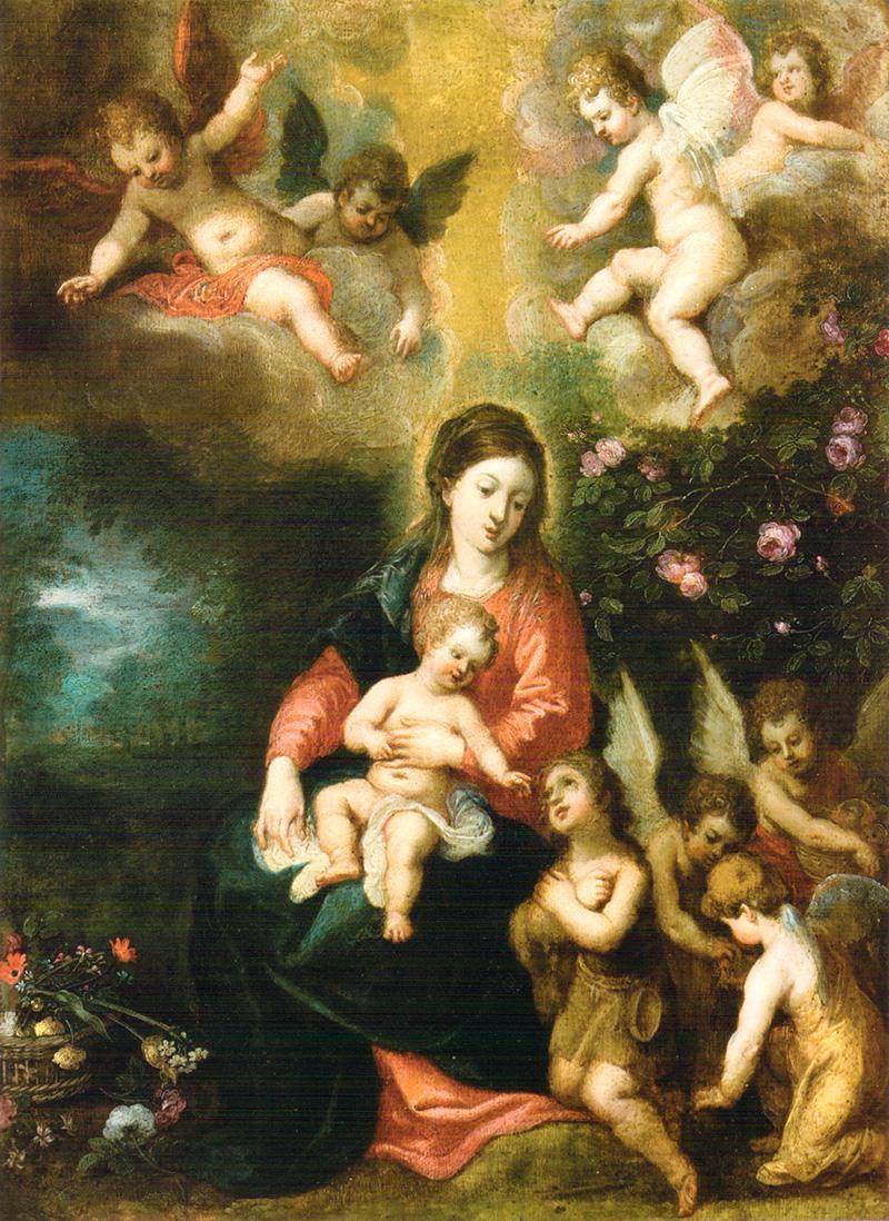 Virgen con Niño y San Juanito Hendrick Van Balen