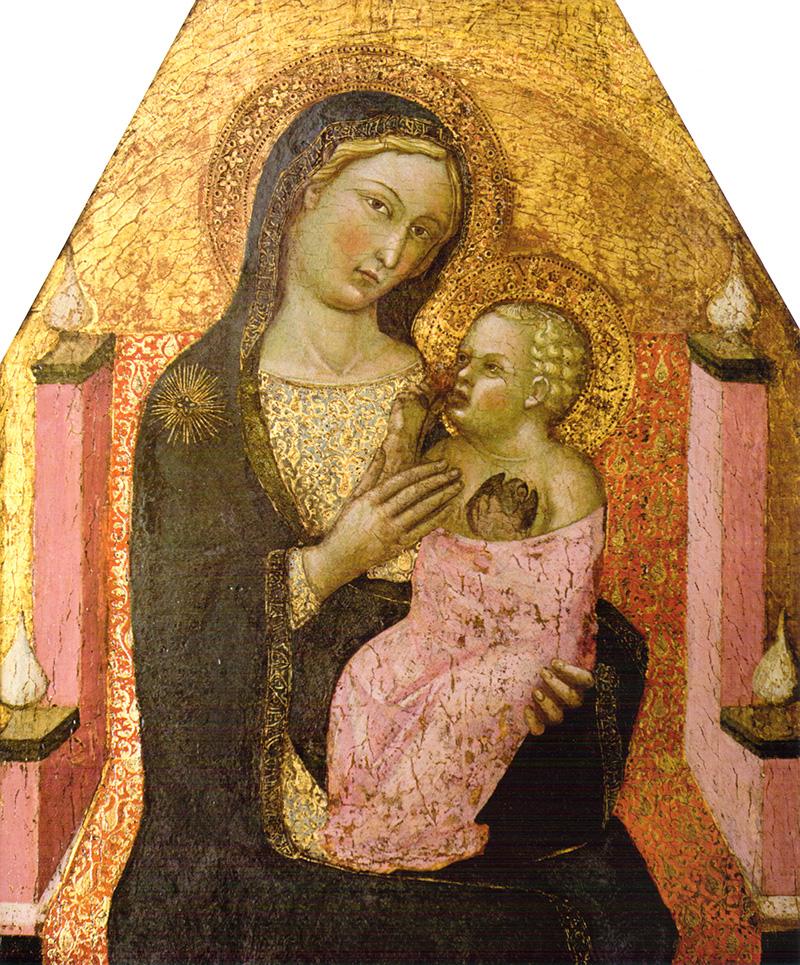 Virgen con Niño Bartolo Di Fredi Cini