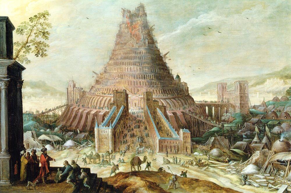 Torre de Babel Frans Francken II y Ambrosius Francken II