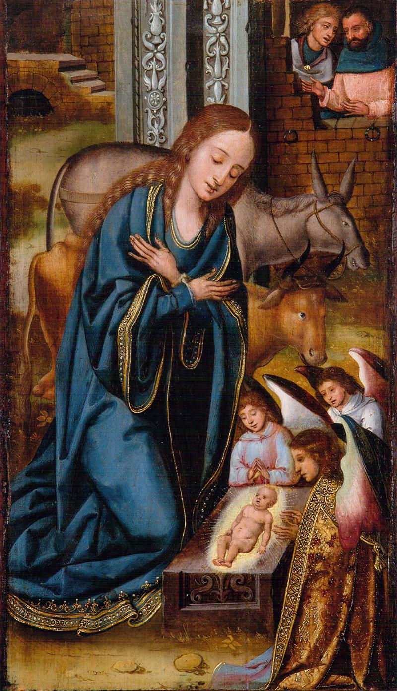 Natividad Jan van Dornicke (Maestro de 1518)