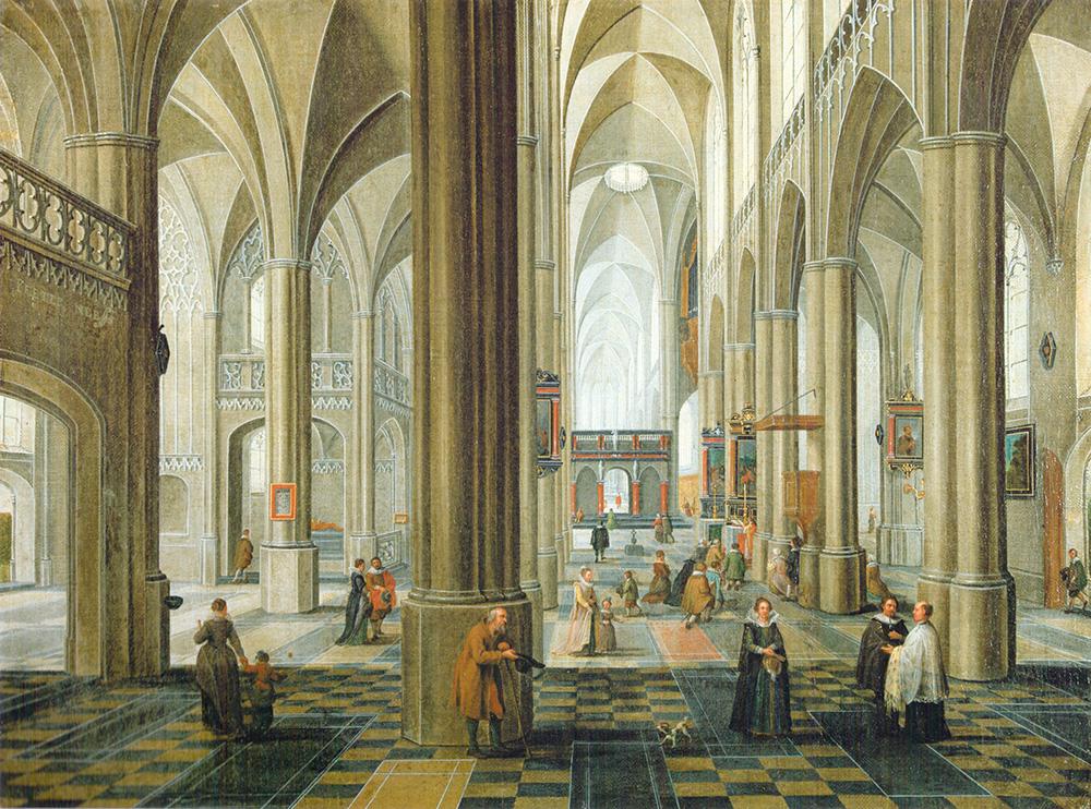 «Interior de Catedral» Peeter Neeffs I