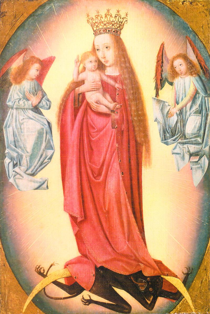Virgen del apocalipsis Geertgen Tot Sint Jans