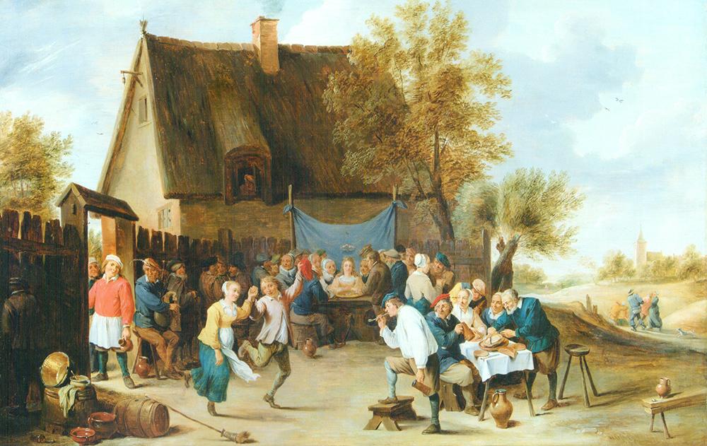 Festín de bodas Matheus van Helmont